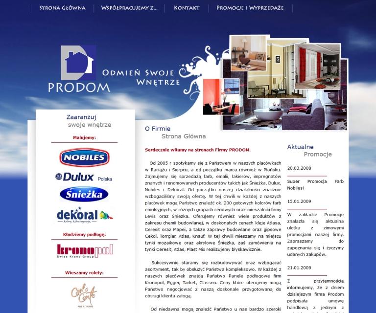 FireShot Capture 038 - PHU PRODOM - Z nami odmienisz Swoje Wnętrze! - http___www.phu-prodom.pl_